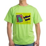 Shuffleboard Superstar Green T-Shirt