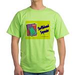 Shuffleboard Superstar Green T-Shirt