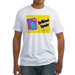 Shuffleboard Superstar Fitted T-Shirt