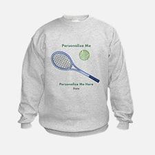 Personalized Tennis Sweatshirt