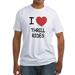I heart thrill rides Shirt