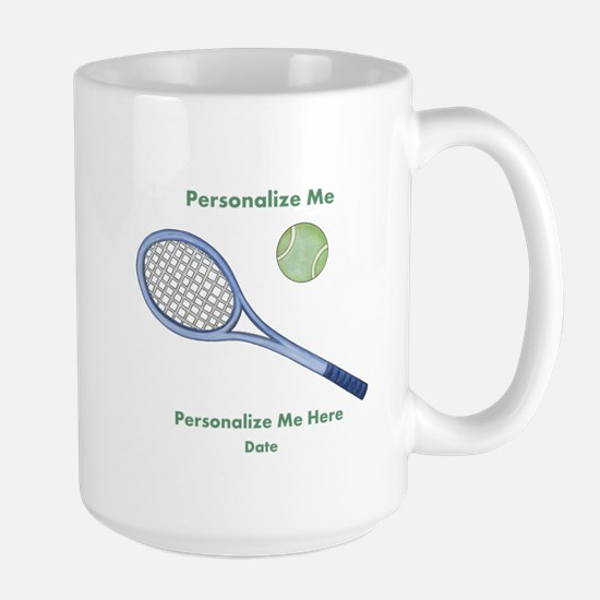 Personalized Tennis Large Mug