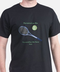 Personalized Tennis T-Shirt