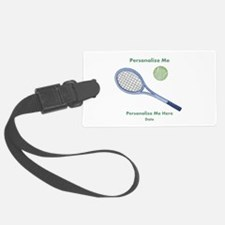 Personalized Tennis Luggage Tag