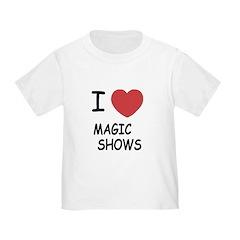 I heart magic shows T