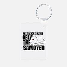Samoyed Keychains