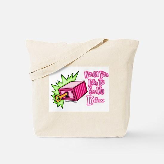 Like To See My Box Tote Bag