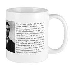 Lincoln Resolve to be Honest Small Mug