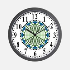 Eclectic Flower 380 Wall Clock