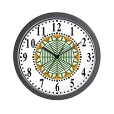 Eclectic Flower 388 Wall Clock