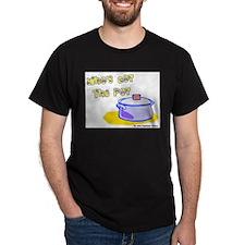 Who's Got The Pot 06 Black T-Shirt
