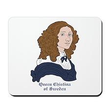 Queen Christina of Sweden Mousepad