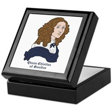 Queen Christina of Sweden Keepsake Box