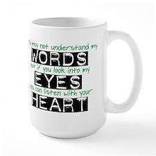 Listen with your Heart Mug