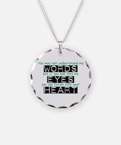Listen with your Heart Necklace