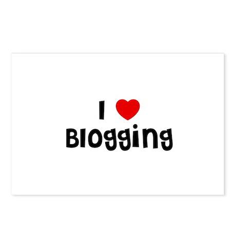 I * Blogging Postcards (Package of 8)
