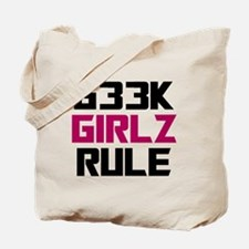 Geek Girls Rule Tote Bag