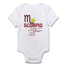 Scorpio Traits Infant Bodysuit