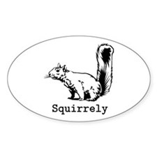 Squirrely Stickers