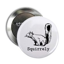 "Squirrely 2.25"" Button"