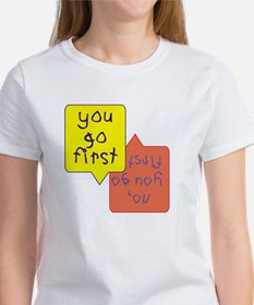 Twins - You go first Women's T-Shirt