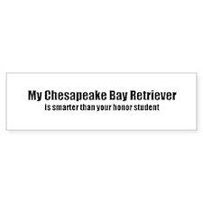 My Chesapeake Bay Retriever i Bumper Bumper Sticker