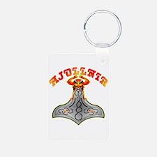 Thor's Hammer Mjöllnir Keychains