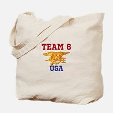 Team 6 Tote Bag