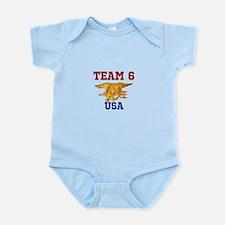 Team 6 Infant Bodysuit