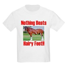 Heavy Horse Hairy Feet T-Shirt
