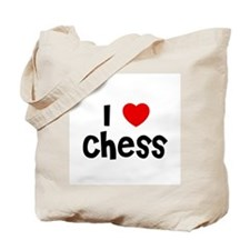 I * Chess Tote Bag
