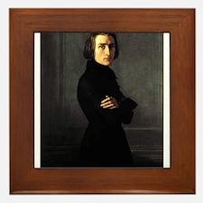 Liszt Framed Tile