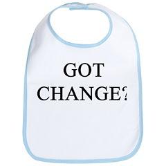 Got Change? Bib