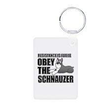 Schnauzer Keychains