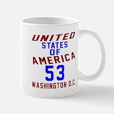 America 53 Birthday Mug