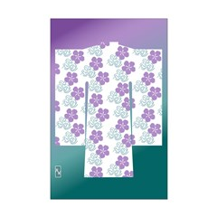 Flowered Yukata Posters
