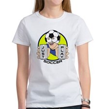 Just Play Soccer Tee