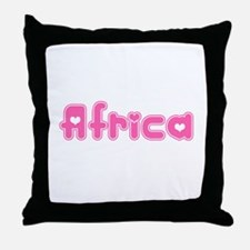 """Africa"" Throw Pillow"