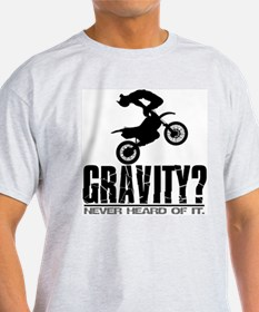 Gravity-Motocross Freestyle/Cordova Ash Grey T-Shi