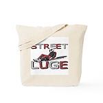 Street Luge Racer Tote Bag