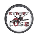 Street Luge Racer Wall Clock