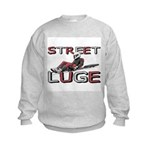 Street Luge Racer Kids Sweatshirt