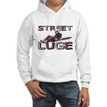 Street Luge Racer Hooded Sweatshirt