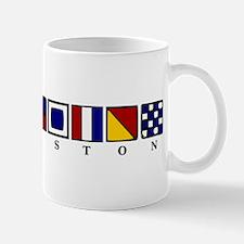 Nautical Galveston Mug