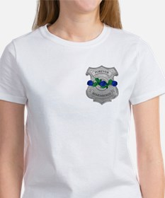 Blue Rose Badge Tee