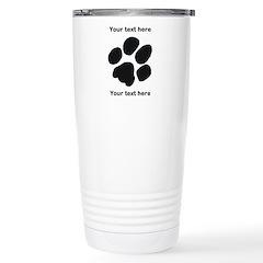 Pawprint - Customisable Stainless Steel Travel Mug