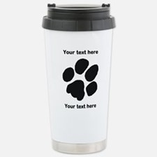 Pawprint - Customisable Stainless Steel Travel Mug