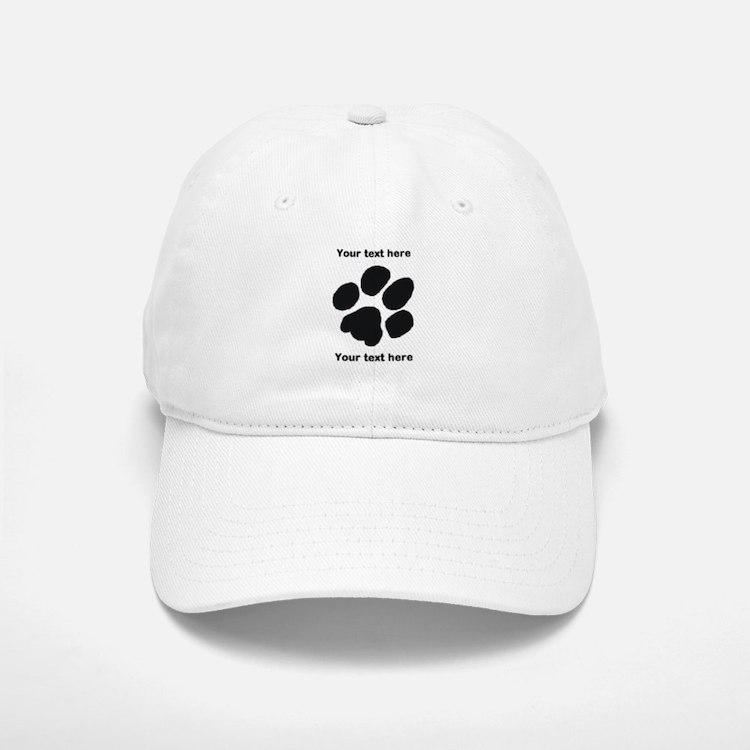 Pawprint - Customisable Baseball Baseball Cap