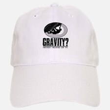 Gravity? Rock Climber Baseball Baseball Cap