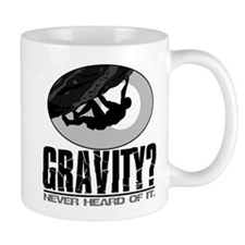 Gravity? Rock Climber Mug